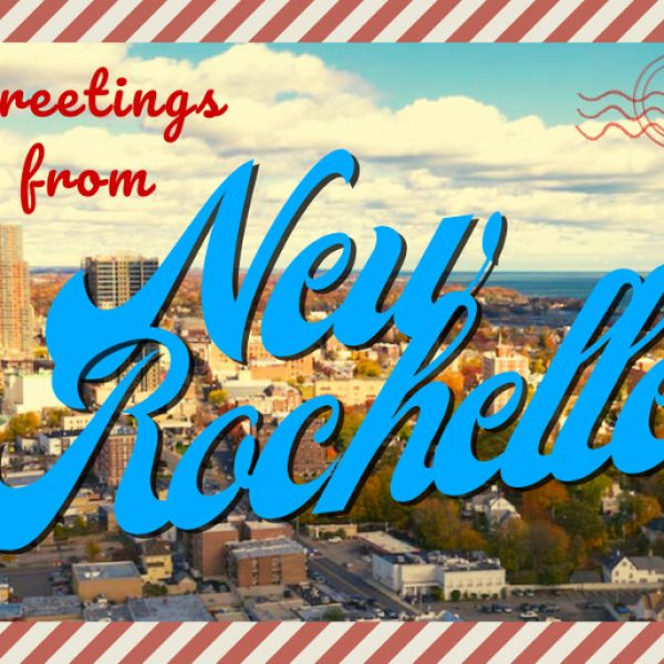 New Rochelle postcard